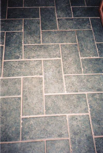Herringbone Ceramic Tile Floors