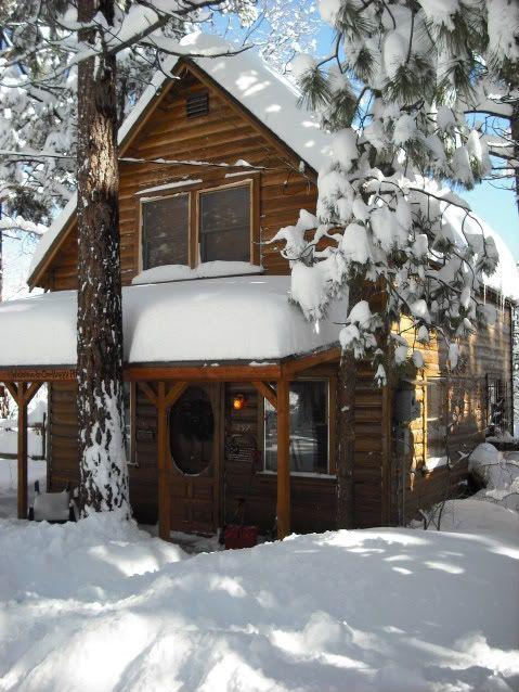 Blokhutten in de sneeuw cabins in the snow fonteyn invierno caba as casas y caba as de - Cabana invierno ...