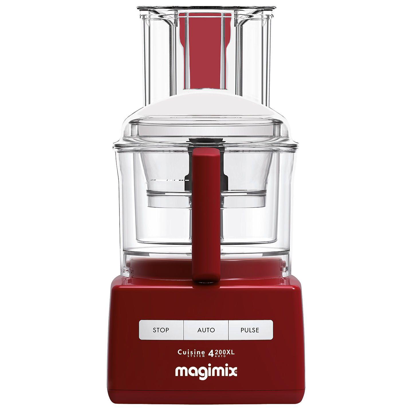 Magimix 4200xl Blendermix Food Processor Red Food Processor Recipes Baking Equipment Food