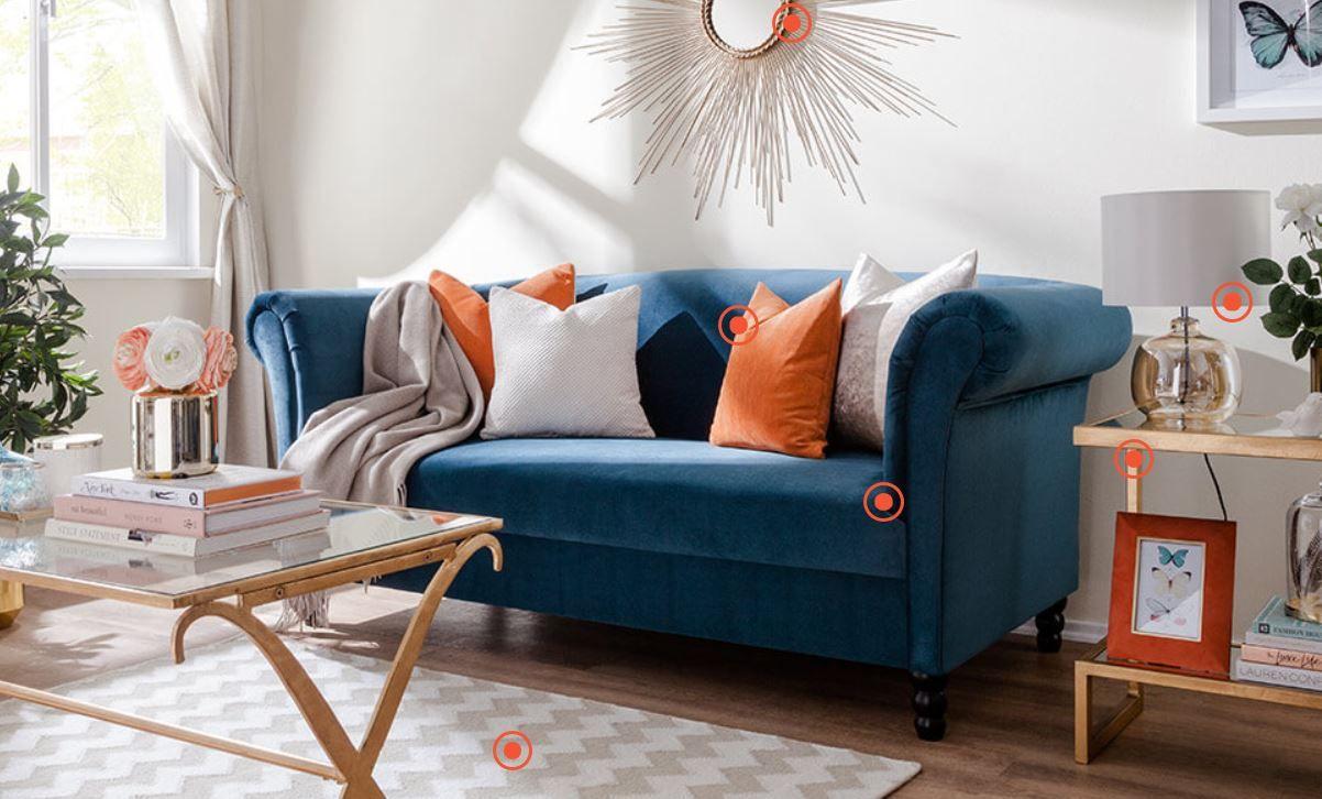 Home24   Wohnen, Sofa, Zweisitzer sofa