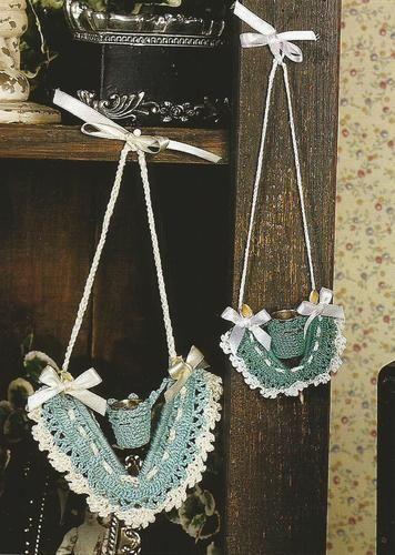 Crocheting Crochet Pattern for a WISHBONE THIMBLE HOLDER | Thimble ...