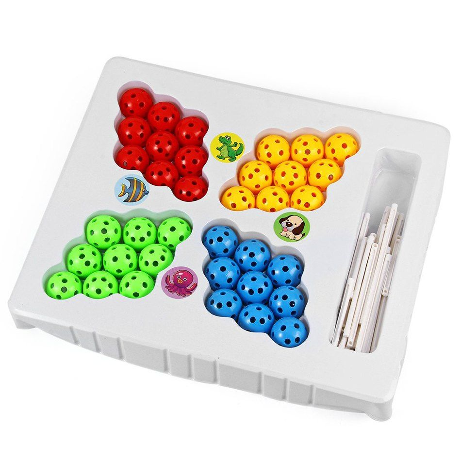 Magic Chageable 36 Beads Ball and Inserted Sticks DIY 3D ...