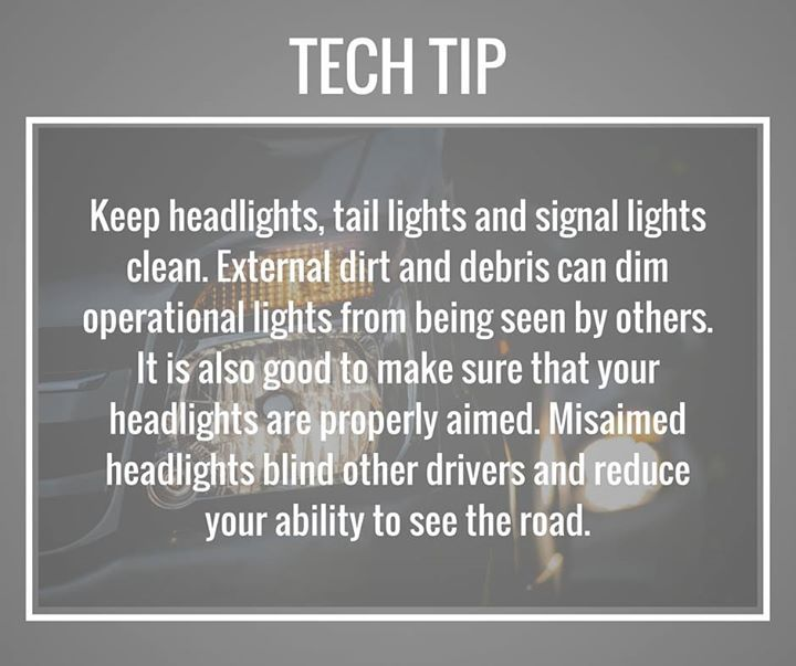 Have you inspected your headlights lately? #TipTuesday