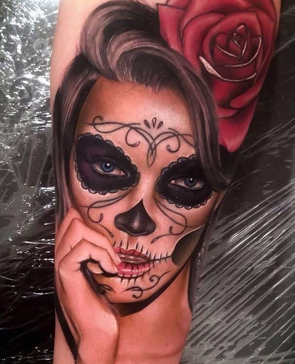 Pin De Alex Gois En Tatoo Tatuajes Katrina Tatuajes Brazo Y