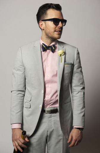 Wedding Style: Light Grey suit combinations | LookBook | Pinterest ...
