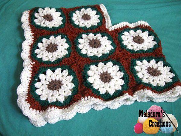 Child Granny Square Poncho – Free Crochet Pattern | crochet away ...