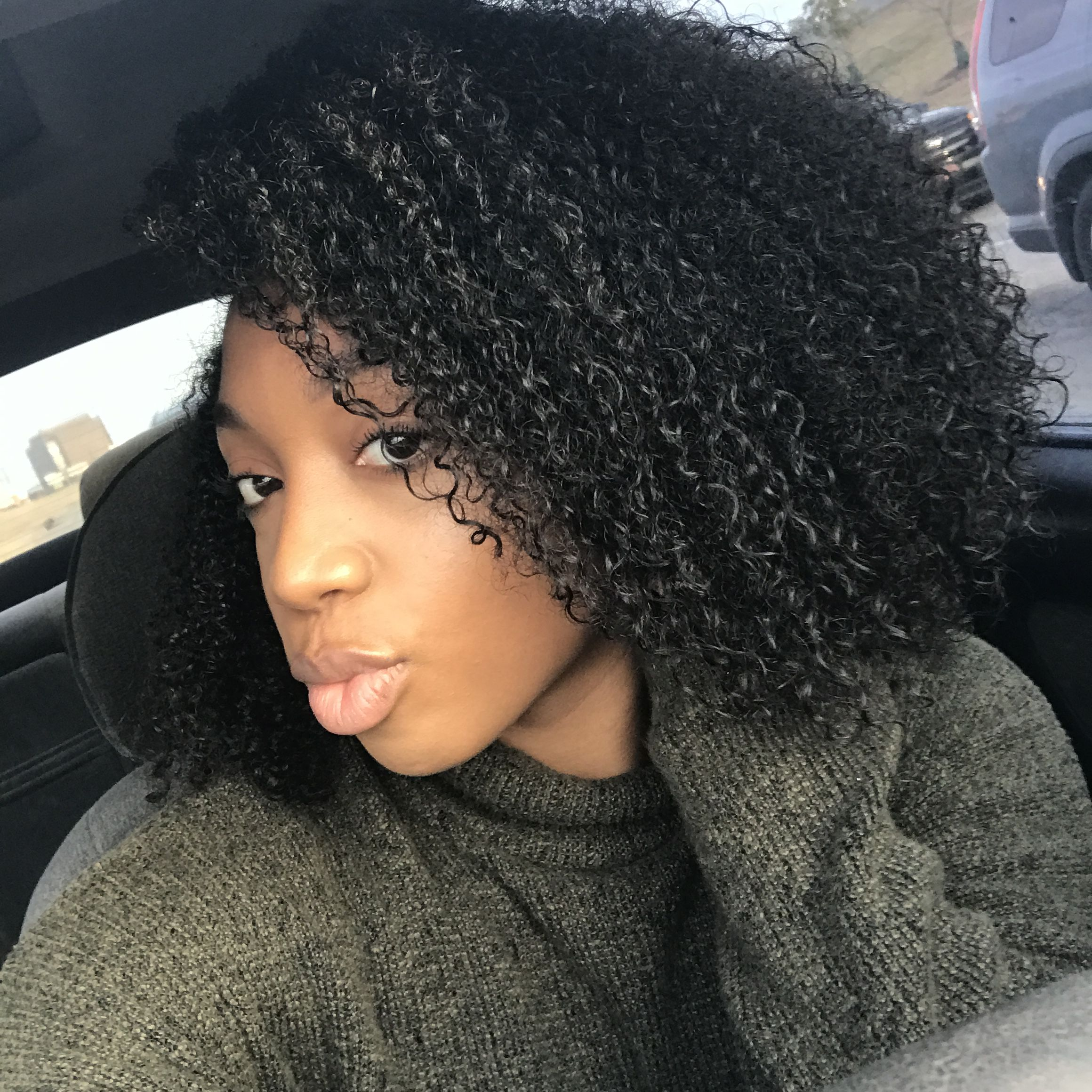 wash and go natural hair medium length natural hair black