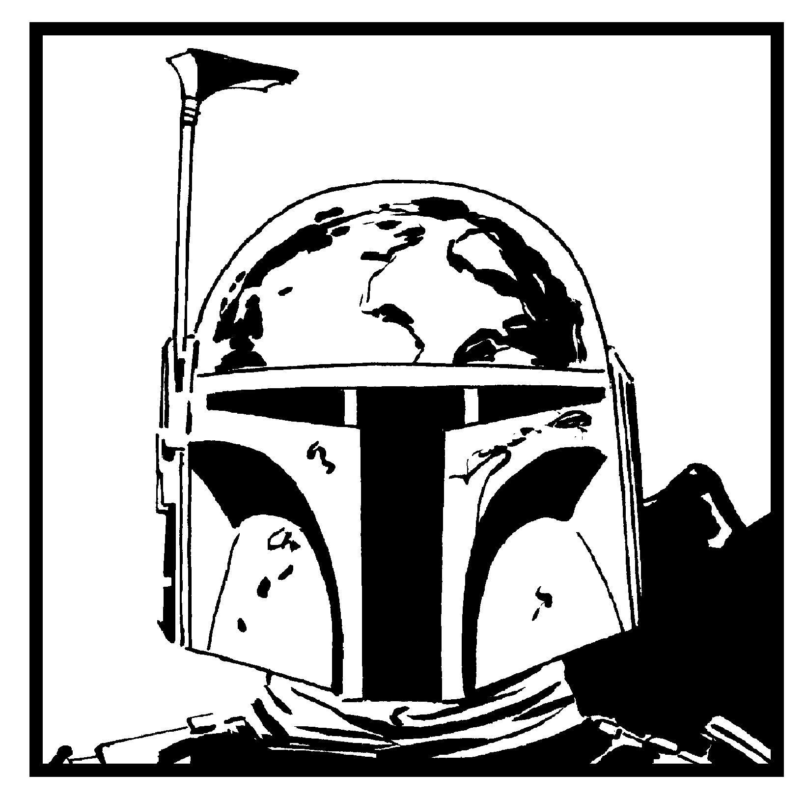 boba fett helmet sketch templates Best Boba Fett Helmet