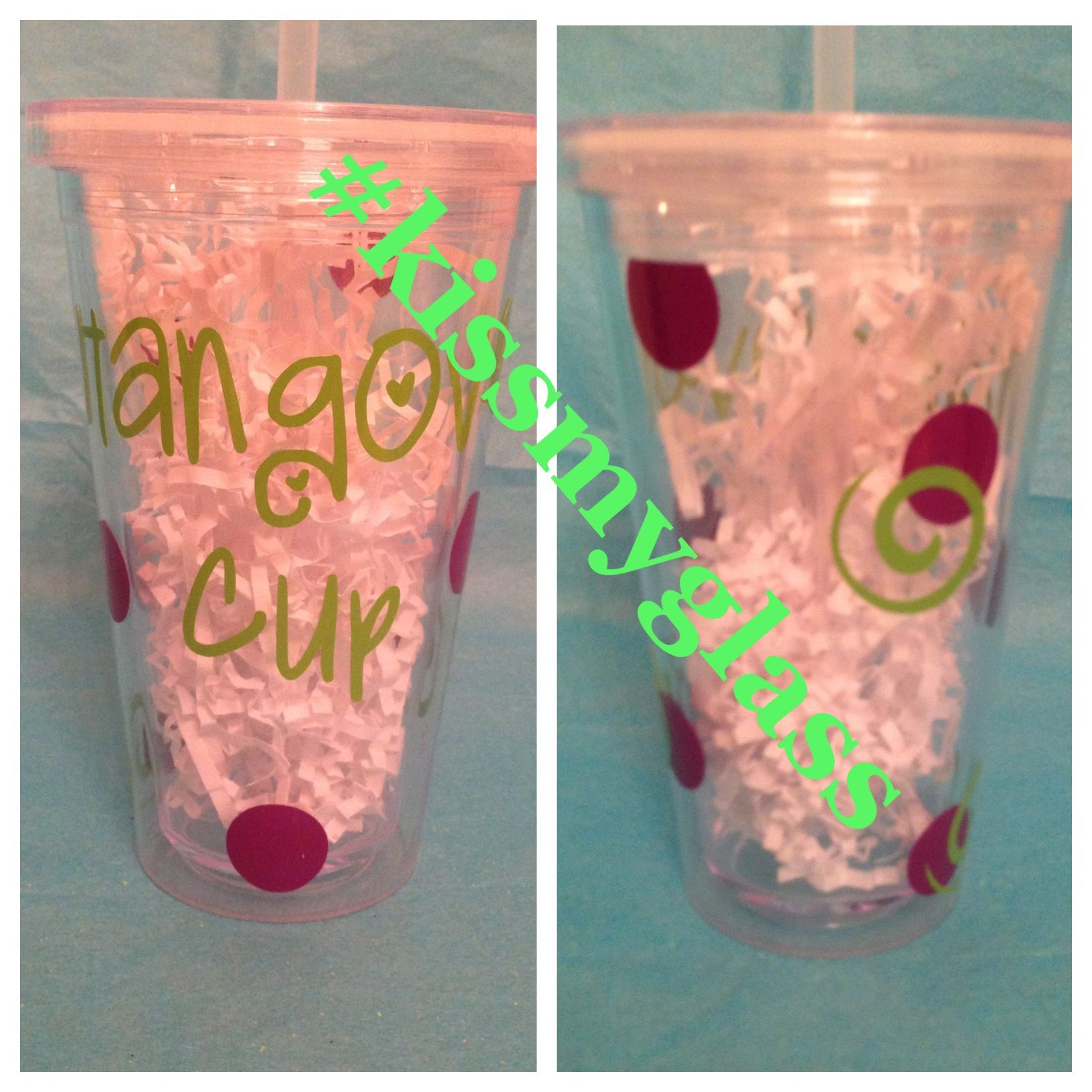 Hangover cup   Double walled tumbler can be customized to whatever you would like   Perfect for a party girl for her birthday!!  Facebook.com/orderkissmyglass