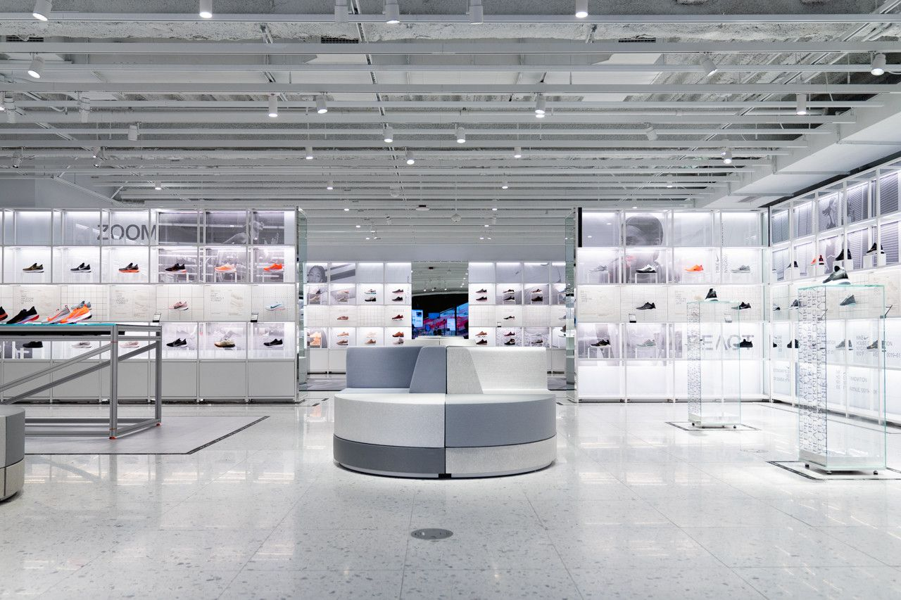 3421d3d3d nike house of innovation 000 nyc new york city flagship november 2018  address location store shop pictures photos images inside exterior interior  closer ...