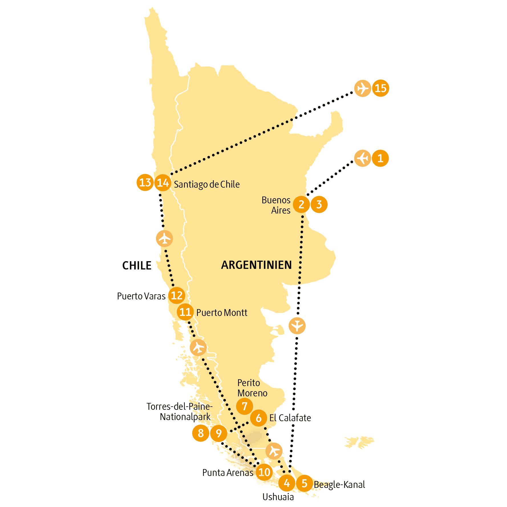 Argentinien Und Chile Entdecken Auf Der Chamaleon Wunderwelten Reise Patagonia 15 Tage Faszination Pur Zwischen Gletschern Argentinien Chile Chile Patagonien