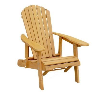 Leisure Season Reclining Patio Adirondack Chair With Pull Out Ottoman Ac7105 Wood Adirondack Chairs Wooden Adirondack Chairs Patio Chairs