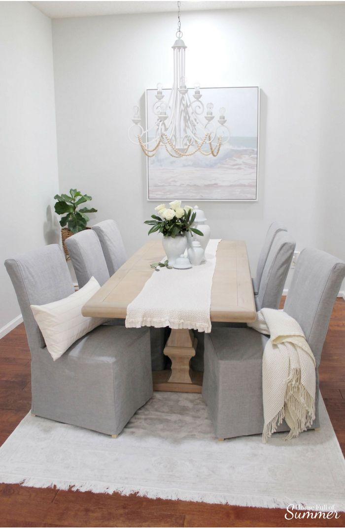 Why I Love My Comfort Works Dining Chair Covers   Dining ...