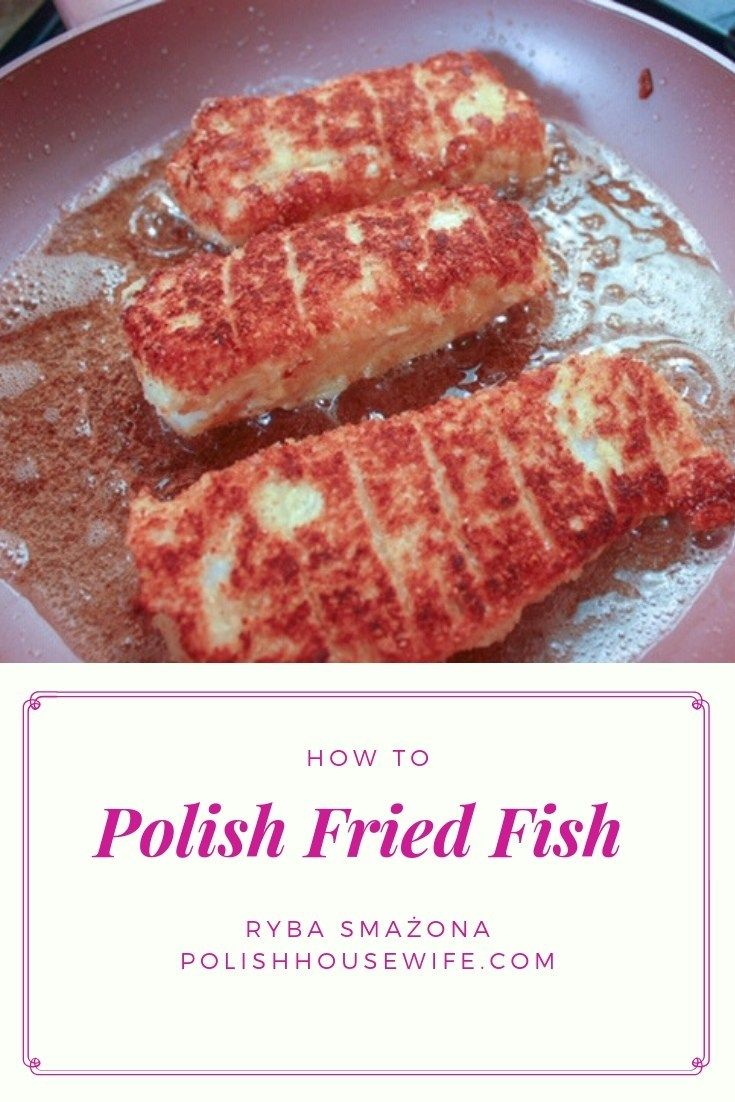 Photo of Try this authentic Polish Fried Fish for a Lenten Supper, Christmas Eve, or any …