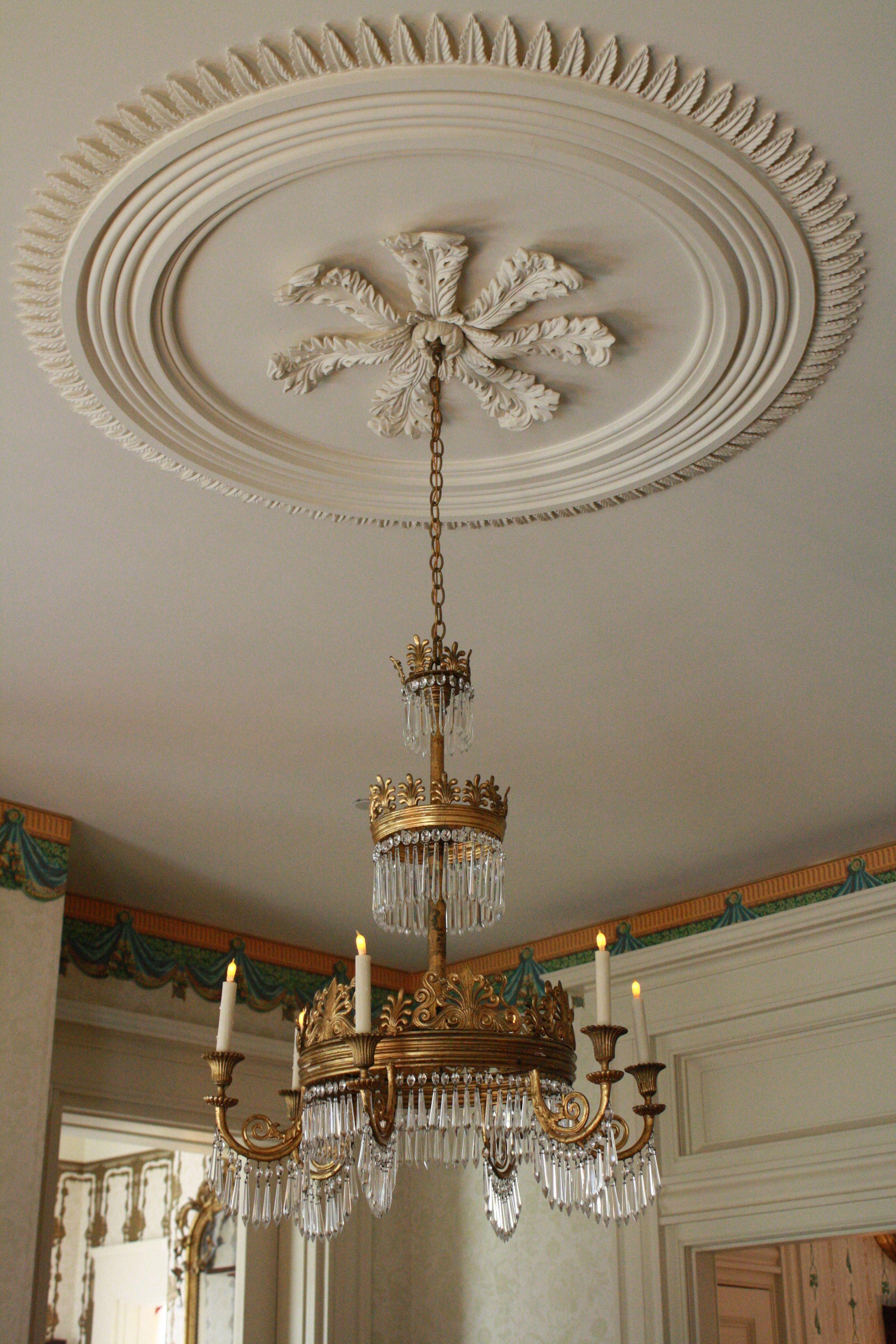 Rosedown Plantation … | framed ceiling