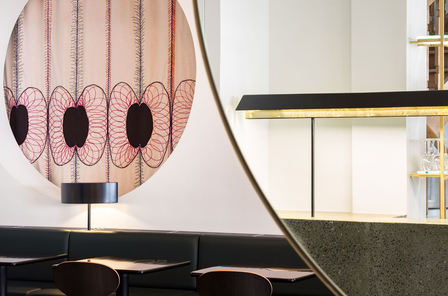 Victor' Café Brussels by Robbrecht and Daem. Victor's
