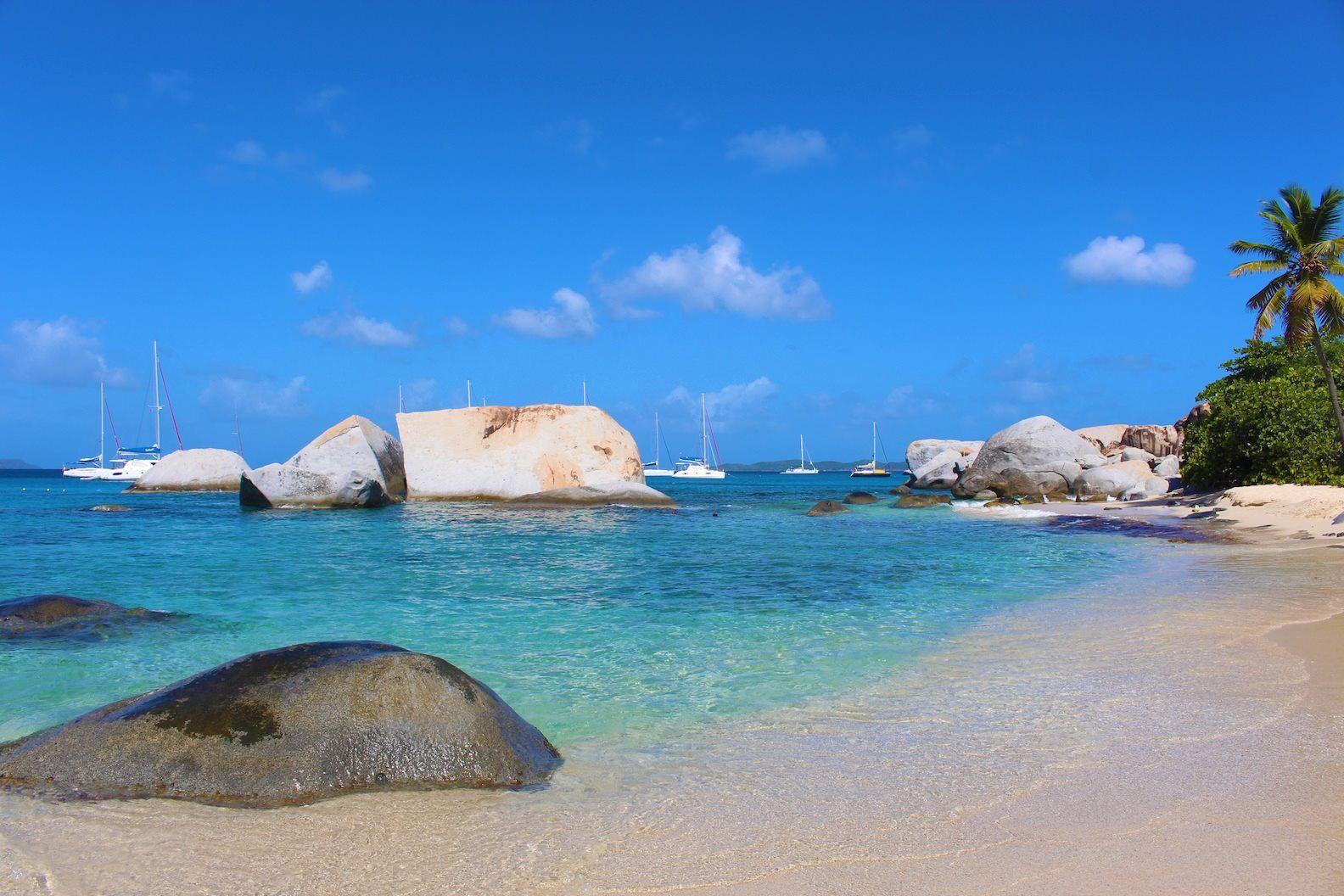 Virgin Gorda British Virgin Islands   Beaches in the world