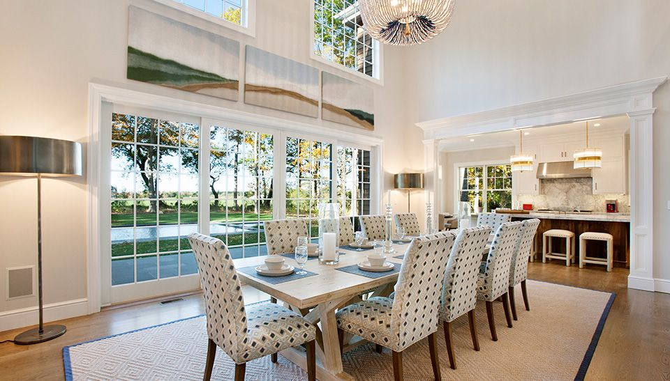 Napa Double Height Double Height Living Room Model Homes Home Double height dining room design
