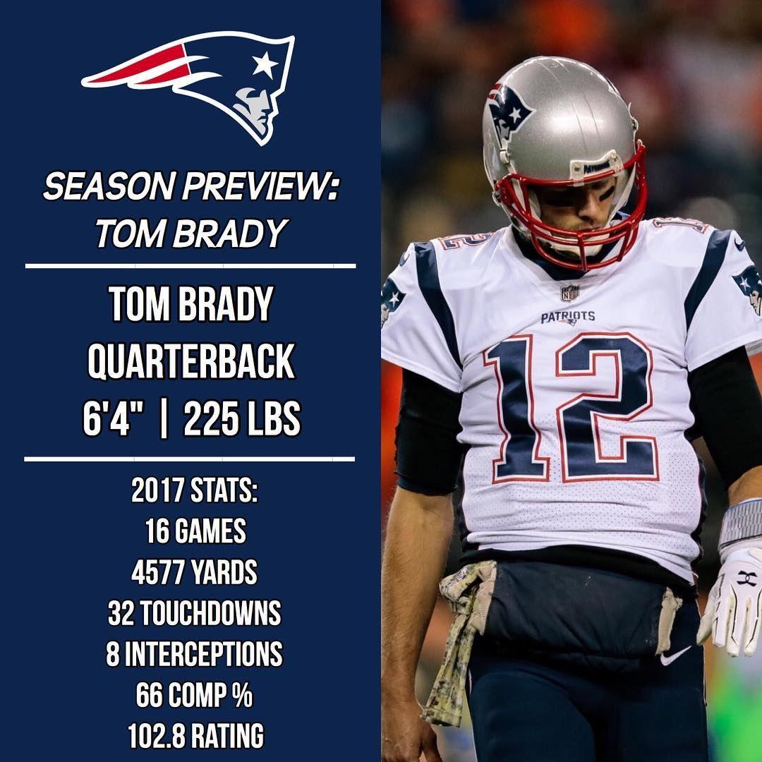 2018 Season Preview Tom Brady Patr1ots18preview 2018 Contract Details 14 Million Base Salar New England Patriots Merchandise Tom Brady New England Patriots