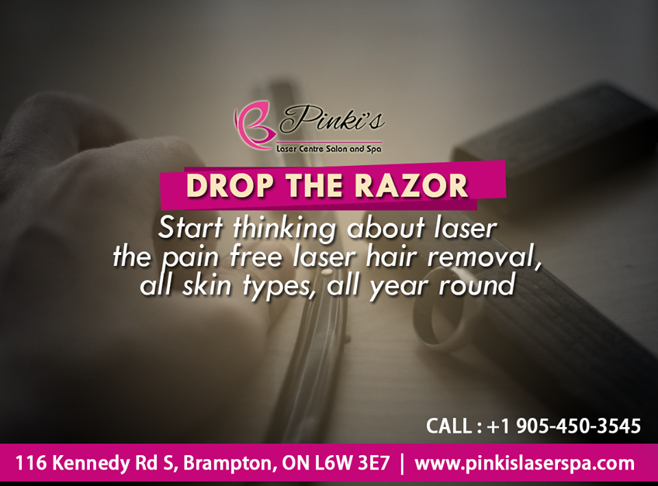 It Is No More a Secret That Unwanted Hair On The Face & Body Can Be Safely Removed & Reduced Permanently Using The Latest Laser Hair Removal Technology. Fortunately, Lasers Are Extremely Effective & Have Proven To Be Absolutely Safe, Time To Drop Razor & Start Having Laser With Pinkis Laser Spa Special Treatments.  For Appointment & Queries: Call : 647-998-0521 #Dontmissit #Laser #Unlimitedsitting #Fullface
