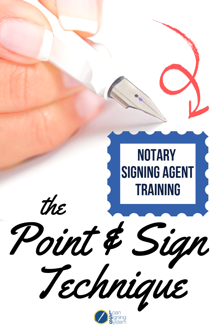 Learn this notary loan signing agent technique to cut your