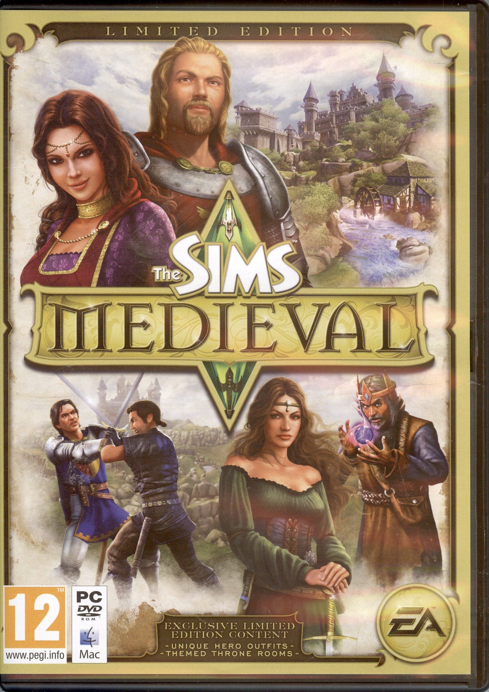 """""""The Sims Medieval"""" EA (USA), 2011 Sims medieval, Sims"""