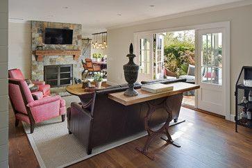 Coastal Ranch  Farmhouse  Living Room  San Diego  Anne Sneed Prepossessing The Living Room San Diego 2018
