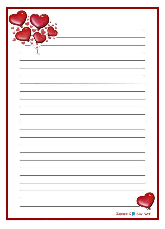 Ingryd Teixeira With start a love letter Printable Stationery - diary paper printable