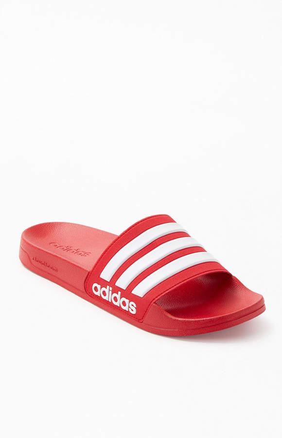 Stripe Adilette Shower Slide Sandals
