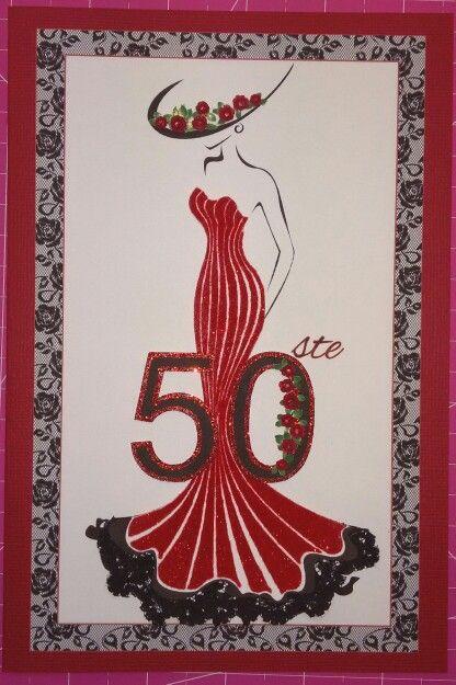 50ste Rooi en Swart