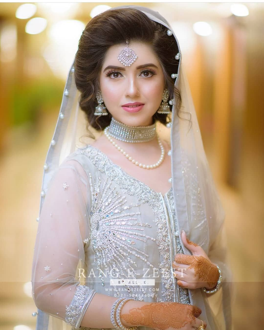 Wedding Hairstyles Asian: Pakistani Brides Giving Major Bridal Hairstyle Goals