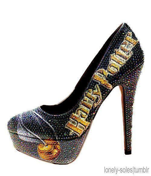 Harry Potter And High Heels Image On We Heart It