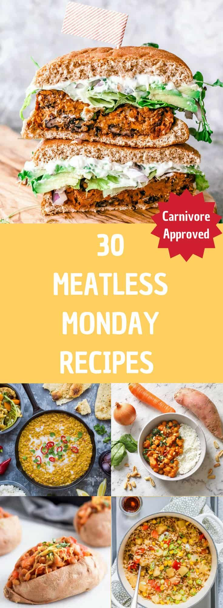 30 Meatless Monday Recipes Your Whole Family Will Love images