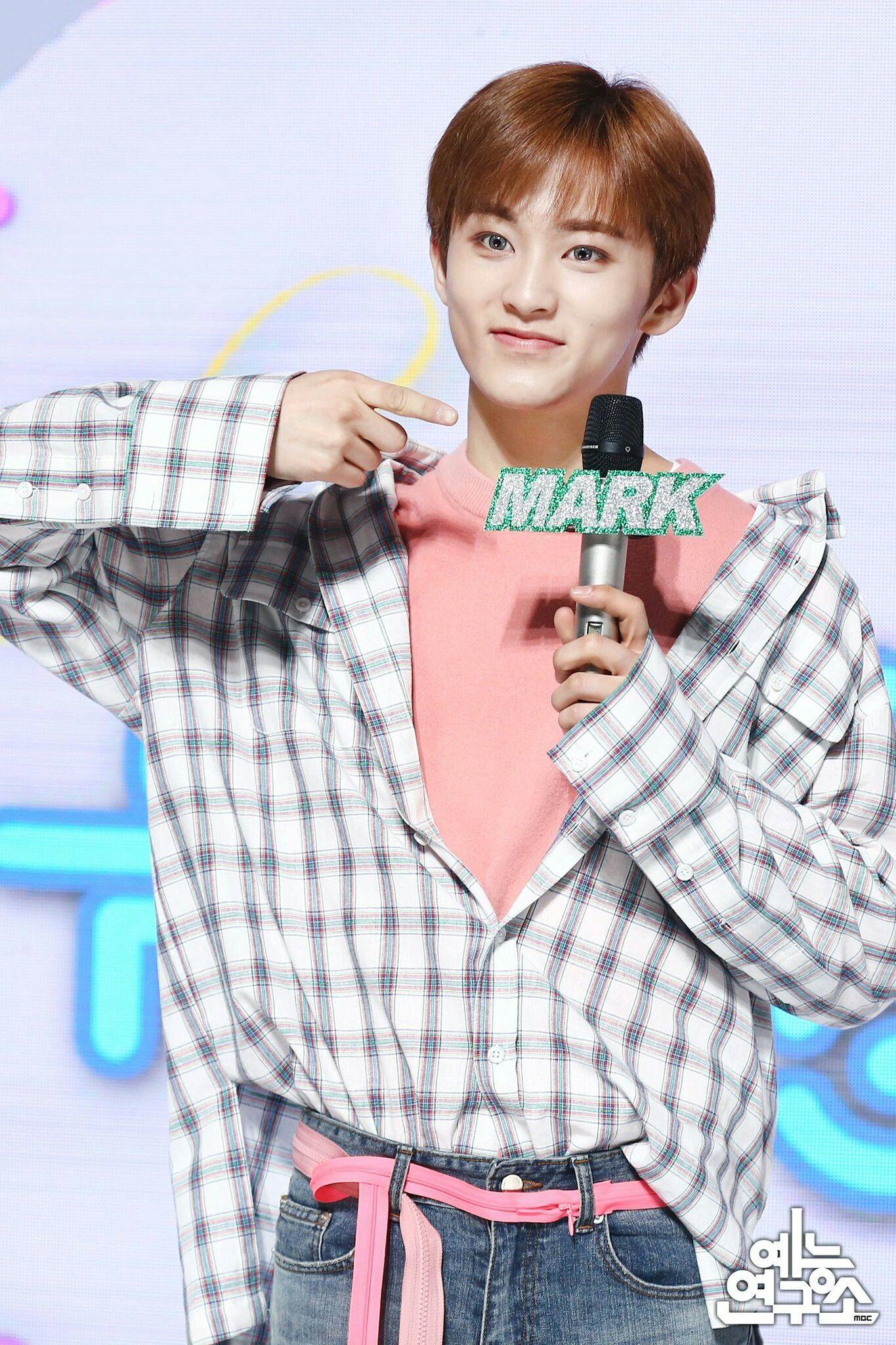 180224 엠시 데뷔 마크 Mark Music Core
