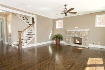 Wide Baseboard And Headers Big Living Room Design Paint Colors For Living Room Living Room Paint