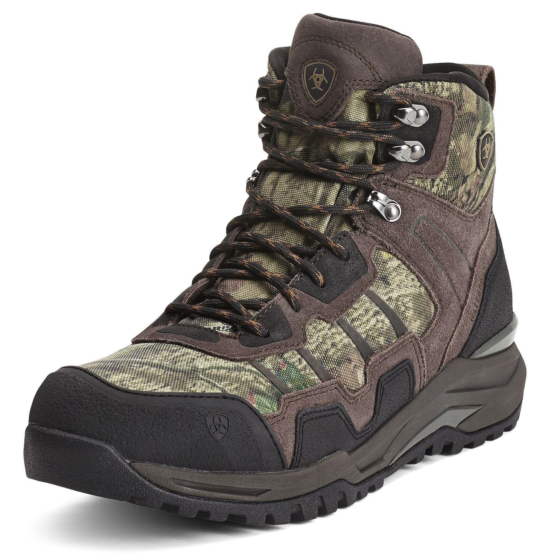 c679d9042abc6 SALE Ariat® Men's Venture Mid Waterproof Brown Camo Endurance Boots Style:  10012941