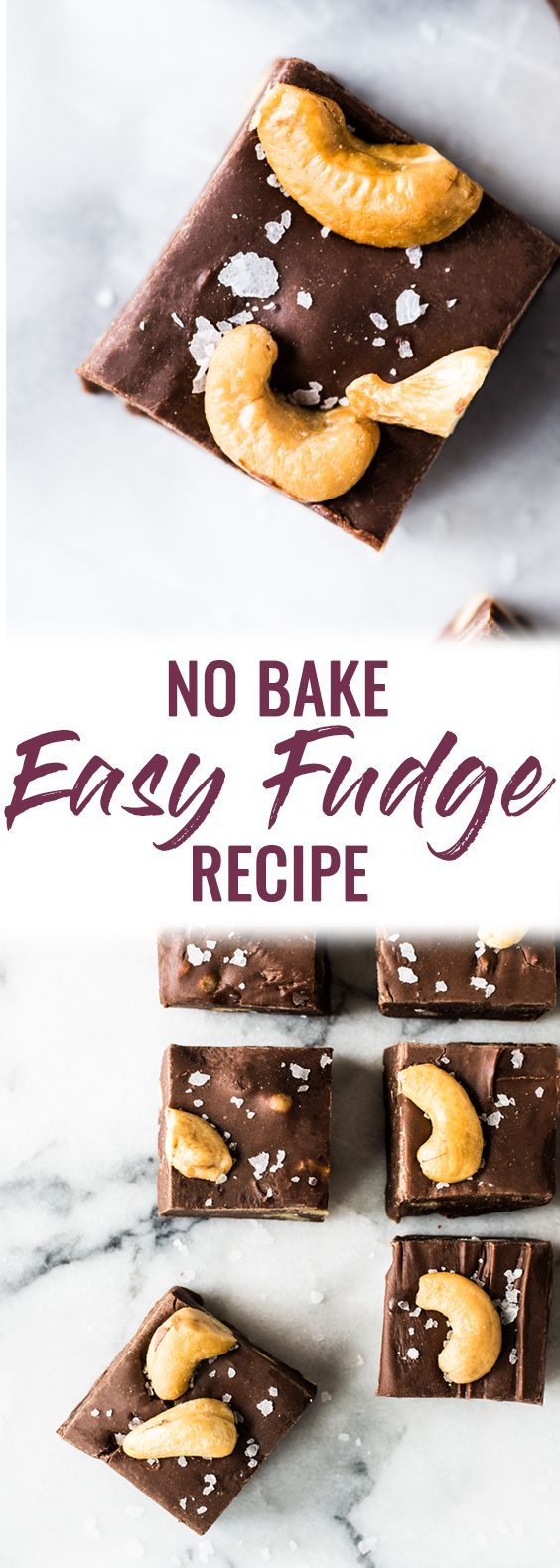 This No Bake Easy Fudge Recipe Made With Chocolate Chips Sweetened Condensed Milk And Touch Of Cinnamon Is The Onl Fudge Easy Fudge Recipes Fudge Recipes Easy