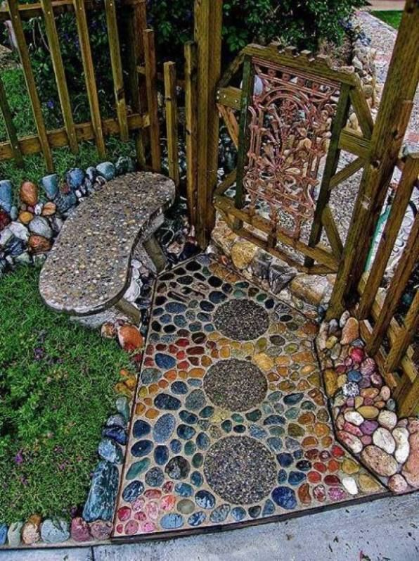 Photo of ★★★★★ 40+ Amazing Ideas For DIY Garden Paths And Walkways – Rhino's Blog