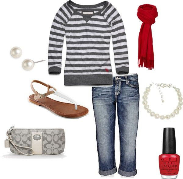 """""""casual"""" by mrstown on Polyvore"""