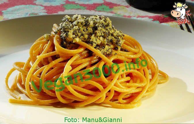 Foto numero 1 della ricetta Pasta al pesto di salvia