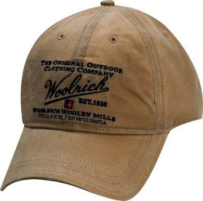 Woolrich Oil Cloth Baseball Cap Hat Tan - via eBags.com!  6e42a5030e7