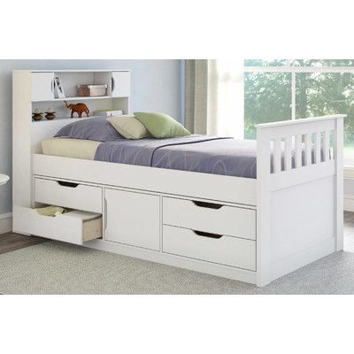 Found It At Wayfair Madison Twin Captain Bed With Storage 641 Landon Luxury Bedroom Furniture Kids Beds With Storage Bed With Drawers