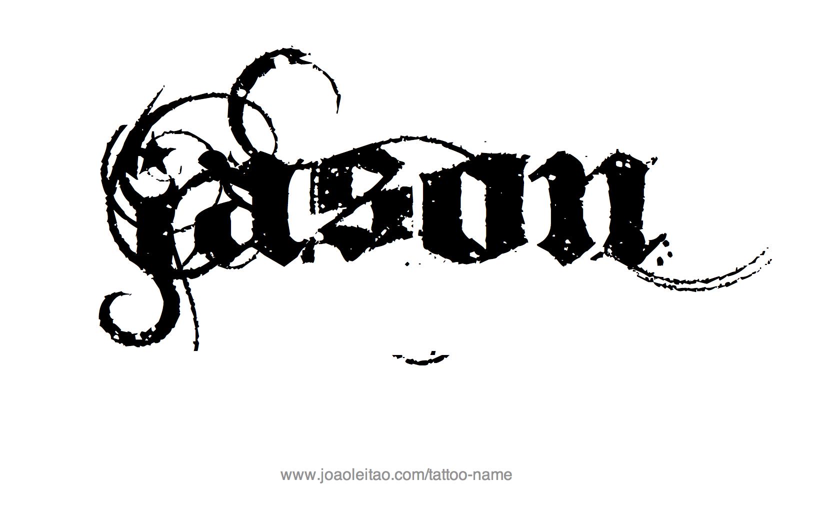 Jason Name Tattoo Designs Name Tattoo Designs Name