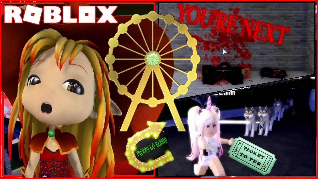 Had Lots Of Fun On The Rides But Some Glitches Roblox