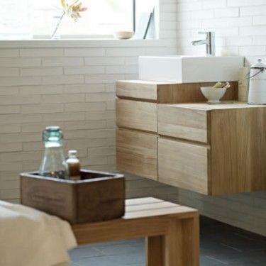 Fired earth bathroom - perfect