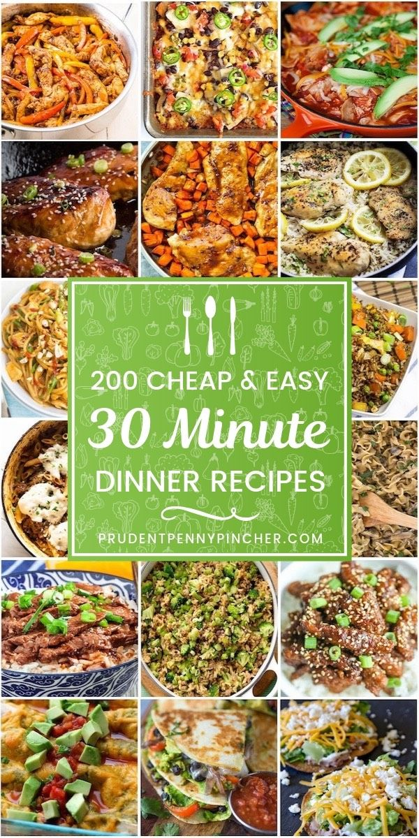 200 Cheap and Easy 30 Minute Meals images