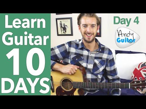 Guitar Lesson 2 - EASY 2 CHORD SONG & LEAD GUITAR [10 Day Guitar Starter Course] - YouTube
