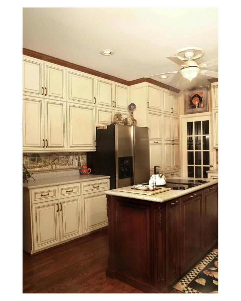 Hand-Stained Kitchen Cabinet Doors vs Machine Stained ...