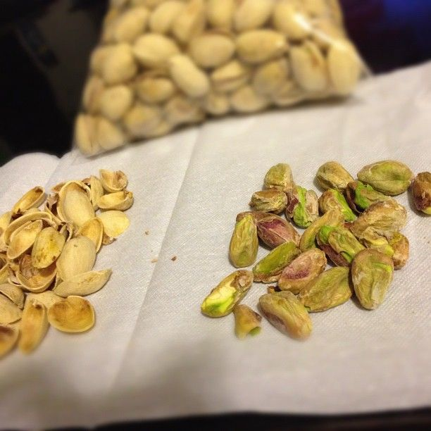 "kodust - ""I like to crack open all my pistachios first before eating them #wonderfulpistachios"""