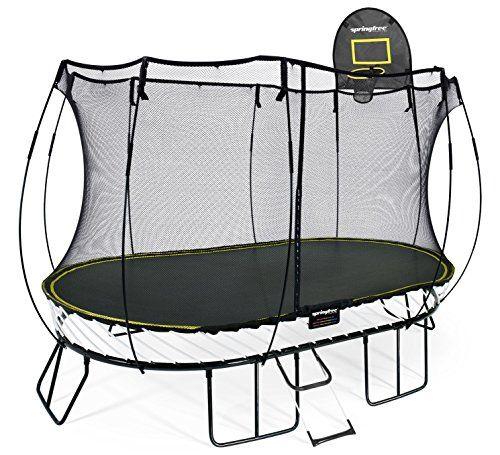 Cheap Trampoline With Basketball Hoop | DealeryDo | Backyard